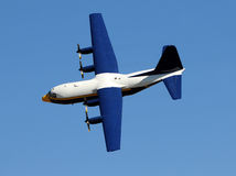 Turboprop airplane Stock Image