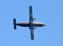 Turboprop-Triebwerk Flugzeug stockfotos