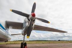 Turbopropulseur Photo libre de droits
