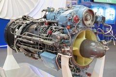 Turboshaft engine. Modern turboshaft engine for helicopters Stock Image