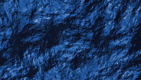 Blue Water Turbulence. Abstract turbulence patterns of water Stock Images