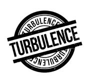 Turbulence rubber stamp. Grunge design with dust scratches. Effects can be easily removed for a clean, crisp look. Color is easily changed Stock Photo
