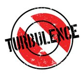 Turbulence rubber stamp. Grunge design with dust scratches. Effects can be easily removed for a clean, crisp look. Color is easily changed Stock Images