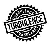 Turbulence rubber stamp. Grunge design with dust scratches. Effects can be easily removed for a clean, crisp look. Color is easily changed Royalty Free Stock Photo