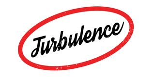 Turbulence rubber stamp. Grunge design with dust scratches. Effects can be easily removed for a clean, crisp look. Color is easily changed Royalty Free Stock Image