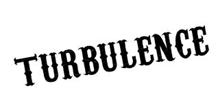 Turbulence rubber stamp. Grunge design with dust scratches. Effects can be easily removed for a clean, crisp look. Color is easily changed Stock Photography