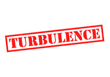 TURBULENCE Rubber Stamp Stock Photos