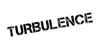 Turbulence rubber stamp. Grunge design with dust scratches. Effects can be easily removed for a clean, crisp look. Color is easily changed Stock Photos