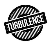 Turbulence rubber stamp. Grunge design with dust scratches. Effects can be easily removed for a clean, crisp look. Color is easily changed Stock Image