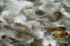 Turbulence water Royalty Free Stock Images