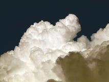 Turbulent clouds Stock Photo