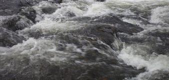 Turbulent creek water Royalty Free Stock Photos