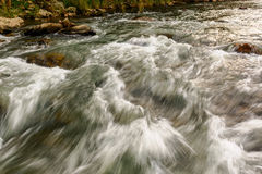 The turbulent flow Royalty Free Stock Photo