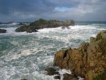 turbulent hav Arkivfoton