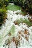 River Rapids in Chiapas, Mexico Stock Images