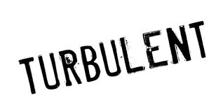 Turbulent rubber stamp Royalty Free Stock Images