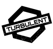 Turbulent rubber stamp. Grunge design with dust scratches. Effects can be easily removed for a clean, crisp look. Color is easily changed Stock Images