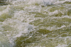 Turbulent water Stock Photo