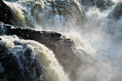 Turbulenter Wasserfall Lizenzfreies Stockfoto