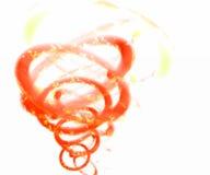 Turbulenz des Feuers Stockfoto
