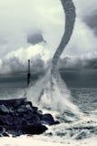 Turbulenz des Wassers Lizenzfreies Stockbild