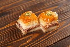 Turc de baklava et bonbons de l'Iran photos libres de droits