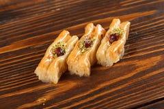Turc de baklava et bonbons de l'Iran photo libre de droits