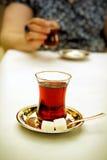 Turc de thé Photographie stock libre de droits