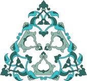 turc traditionnel d'illustrat de tuile antique de tabouret Photo stock