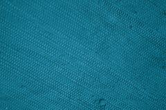 Turchese di struttura del cotone Immagine Stock