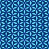 Turchese luminoso e blu che ripetono progettazione luminosa senza cuciture royalty illustrazione gratis