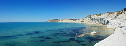 turchi της Σικελίας scala τοπίων dei Στοκ Εικόνα