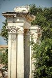 Turcja, Ephesus, ruiny antyczny rzymski miasto Zdjęcie Stock