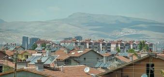Turcja, Kemer, 15,07,2014 systemu dla ogrzewać wodny od sunligh Fotografia Royalty Free