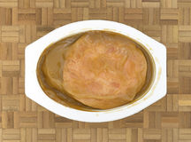 Turcja z sosu TV gościem restauracji Obraz Stock