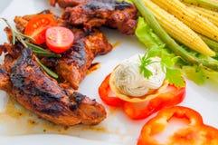 Turcja z warzywami Obraz Royalty Free