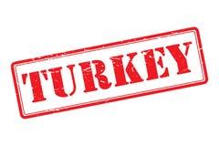 Turcja znaczek ilustracja wektor