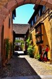 Turckheim, French destination Stock Image