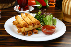 Turco Fried Sigara Borek foto de stock royalty free