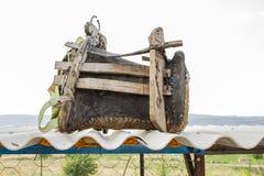 Turco, Gaziantep, il 24 giugno, - 2019: Bella sistemazione fra la bella sella di Gaziantep e di Adiyaman sulla strada fotografia stock