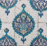Turco hecho a mano antiguo - tejas del otomano Fotos de archivo libres de regalías