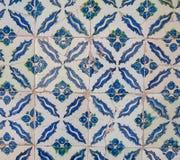 Turco hecho a mano antiguo - tejas del otomano Fotografía de archivo