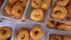 Turco Lokma nombrado Anatolia Traditional Sweet Dessert Donut almacen de video