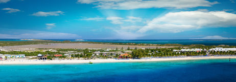 Turco magnífico, Turks and Caicos Islands Imagen de archivo