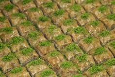 Turco Ramadan Dessert Baklava fotografia de stock royalty free