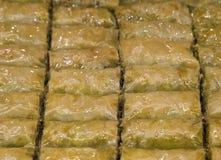 Turco Ramadan Dessert Baklava imagem de stock