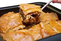 Turco Ramadan Dessert Baklava imagem de stock royalty free