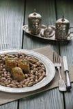 Turco Ramadan Dessert Baklava imagens de stock