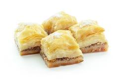 Turco Ramadan Dessert Baklava foto de stock