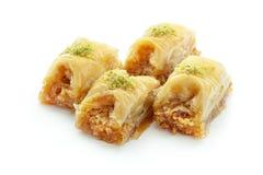 Turco Ramadan Dessert Baklava fotos de stock royalty free
